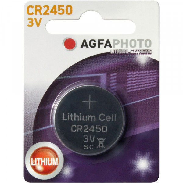 Agfa Photo Lithium CR2450 3V