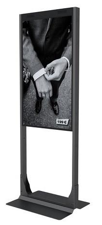 """MB Bodenplatte Fix 55"""", OMD-Serie / 7352"""