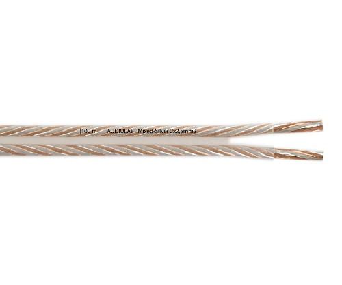 AUDIOLAB Mixed-Silver-Kabel, transparent