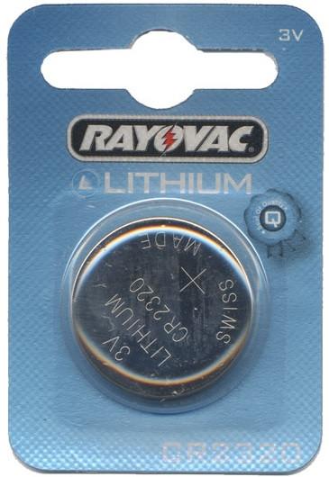 Rayovac Lithium 3V 2320