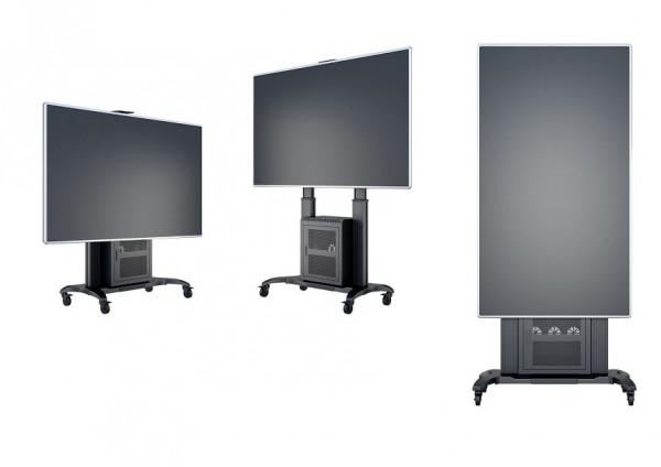 """MB TV-Ständer -100"""", Aluminium,schwarz,7680"""