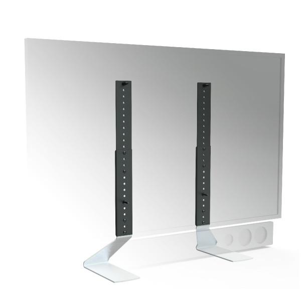 Tischfuss Erard Fit-Up X-Large, silber, Metall