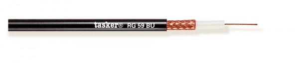 Tasker Koaxial Cable RGB75, schwarz,