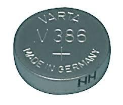 Knopfzelle-Uhrenbatterie V386, 1.55V, 130mAH