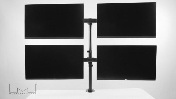 """MB Monitorhalter Basic Quad bis 27""""schwarz/3316"""