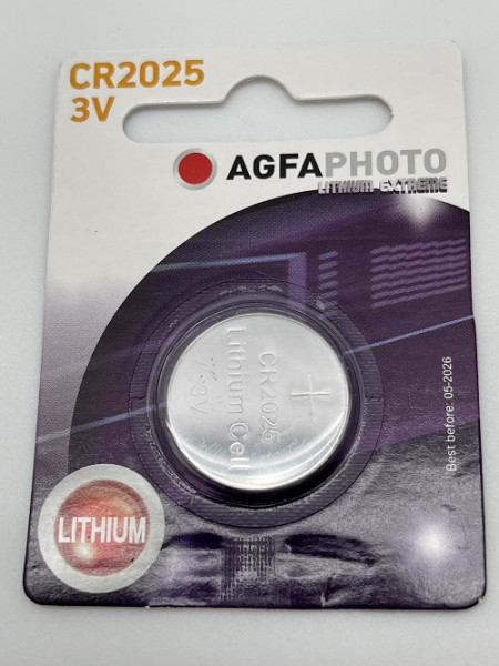 Agfa Photo Lithium CR2025 3V