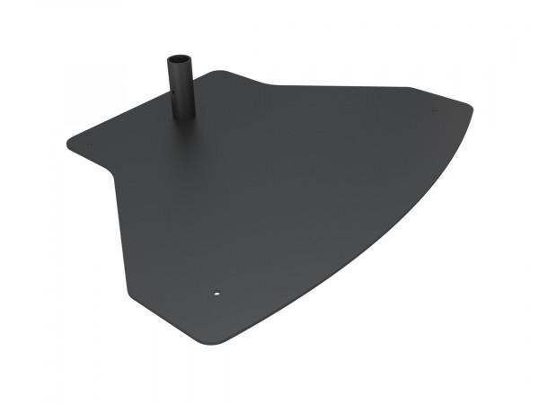 M Pro Zubehör, Bodenplatte Fix, schwarz/6447