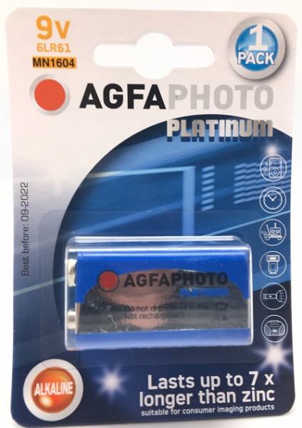 Agfa Photo Lithium 6LR61 9V