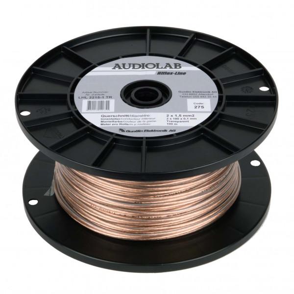 AUDIOLAB Hiflex-LS-Kabel, LHL 2215-2, transp
