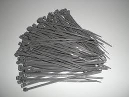 Kabelbinder 380x7.6 mm, silber