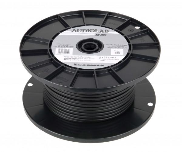 AUDIOLAB Hiflex-LS-Kabel, LHL 2275-2 schwarz