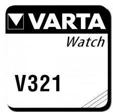 Knopfzelle-Uhrenbatterie V321, 1.55V, 14mAH