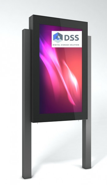 Outdoor Monitorbox Stele M5,Ventilation/Heizung
