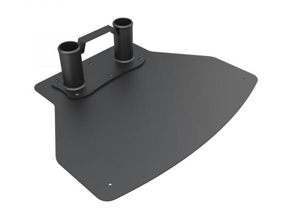 MB Bodenplatte Fix zu Floorstand, schwarz7215