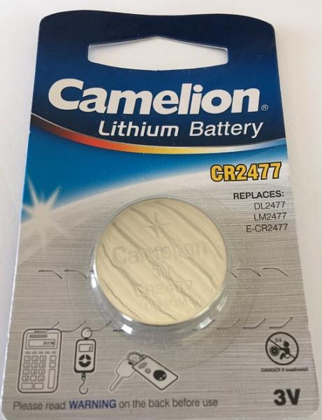 Camelion Lithium CR2477 3V, 1000mAh