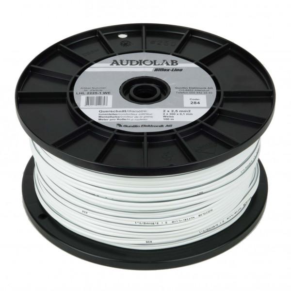 AUDIOLAB Hiflex-LS-Kabel, LHL 2225-1 weiss