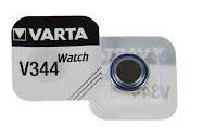 Knopfzelle-Uhrenbatterie V344, 1.55V, 106mAH