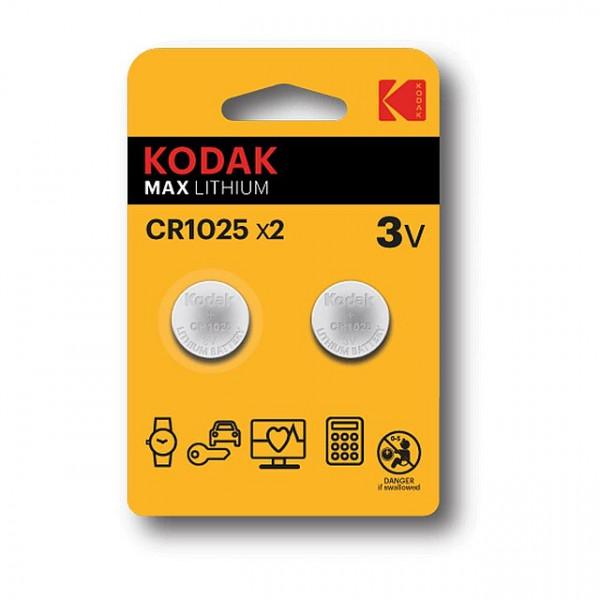 Kodak Lithium CR1025 3V
