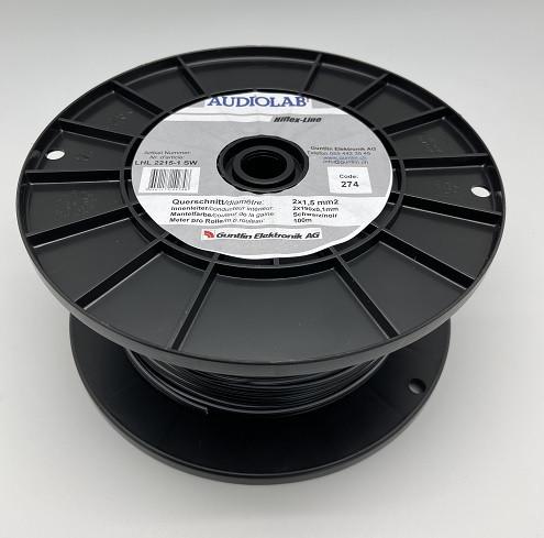 AUDIOLAB Hiflex-LS-Kabel, LHL 2215-1 schwarz