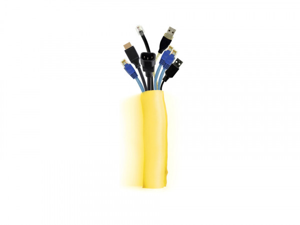 Audioraq Kabelführung, gelb