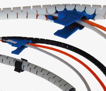 AUDIOLAB Spiralschlauch, 23mm Ø, weiss