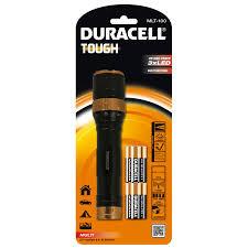 Duracell Taschenlampe, Alu, schwarz