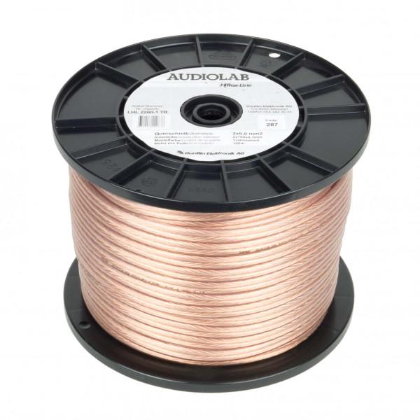 AUDIOLAB Hiflex-LS-Kabel, LHL 2260-1, transp