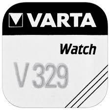 Knopfzelle-Uhrenbatterie V329, 1.55V, 37mAH