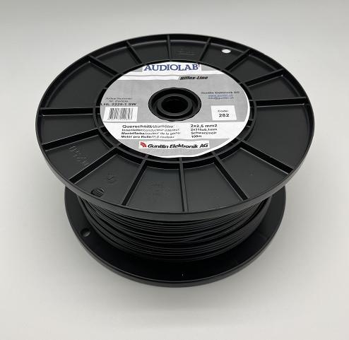 AUDIOLAB Hiflex-LS-Kabel, LHL 2225-1,schwarz