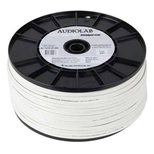 AUDIOLAB Standard-LS-Kabel, weiss