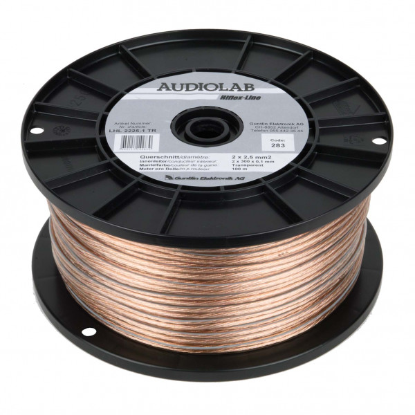 AUDIOLAB Hiflex-LS-Kabel, LHL 2225-1, transp
