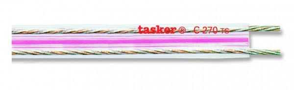 Tasker Flat Audio Cable C270 TS, transparent,