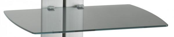 AUDIORAQ LINEA Fachboden, grau metallic