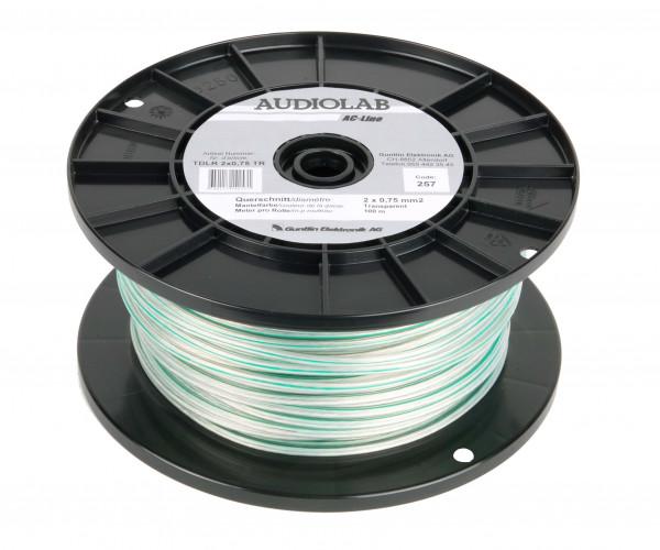 AUDIOLAB Hiflex-LS-Kabel, LHL 2275-2 transp