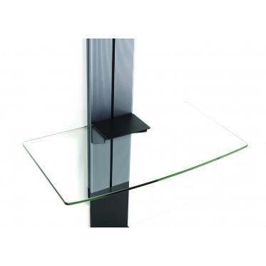 Erard EXOSTAND Tablette, Aluminium/Glass,