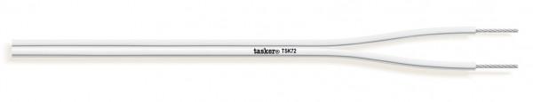 Tasker Audio Cable TSK72, weiss, Silikon Mantel