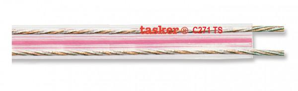 Tasker Flat Audio Cable C271 TS, transparent,