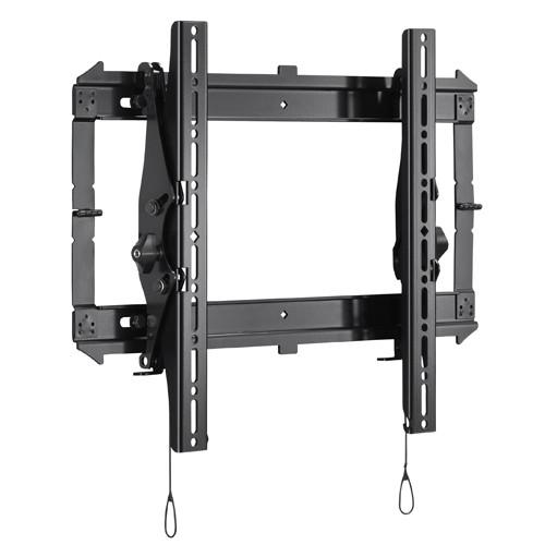 Neigbare Wandhalterung, -56 kg, schwarz