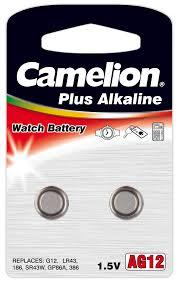Camelion LR43 AG12, 1.5V