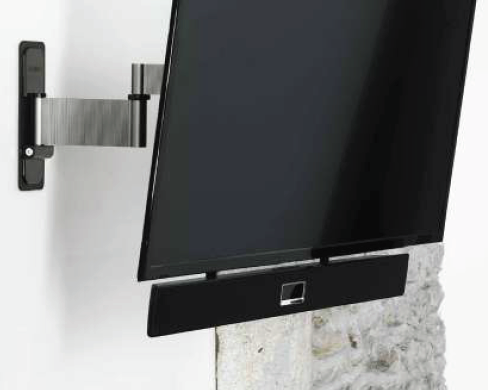 Erard Soundbarhalterung, Stahl, schwarz/ 0942