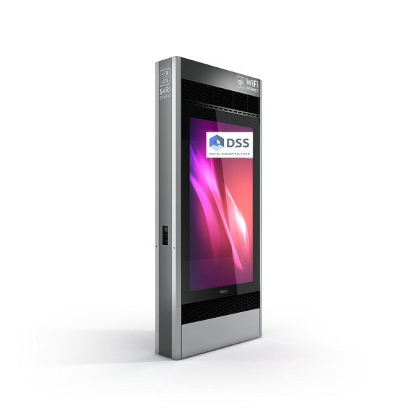 Outdoor Monitorbox Stele FX Doubleside,