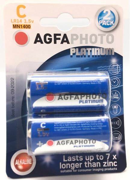 Agfa Photo Alkaline LR14 Baby, C