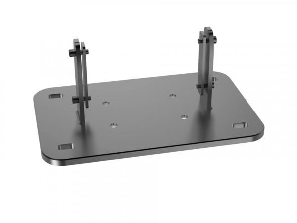 MB Bodenplatte Fix zu Floorstand, silber/3002