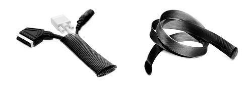 Kabelsocken D=40mm, L=5m, schwarz/1561