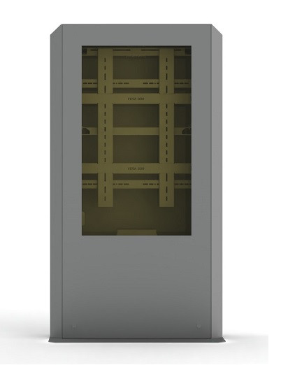 """Outdoor Monitorbox 55"""", klimatisiert, Ventilation,"""