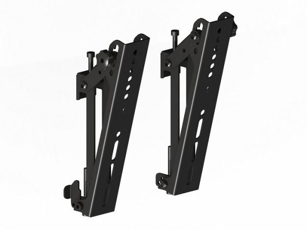 M Pro Zubehör, Tilt-Halter 200mm, Metall, schwarz,