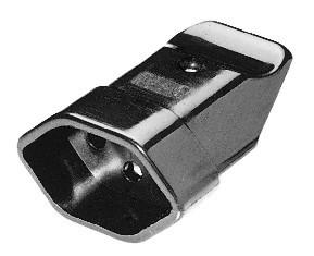 Kupplung CH Typ 13 schwarz, 10A/250V
