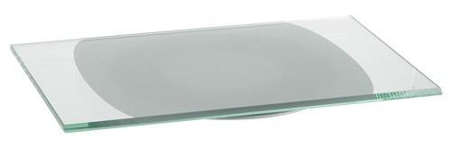 AUDIORAQ Glasdrehplatte GP 3352, Klarglas