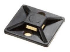 Kabelbandhalter 28.6x28.6 mm, schwarz