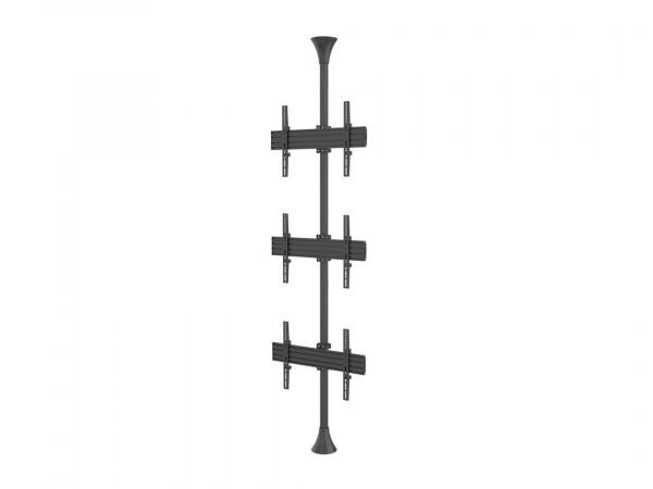 "MB Boden-Deckenhalter 3x, 40""-65"", 3644,VESA"